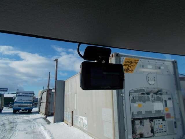 2カメラドラレコ装備しています。