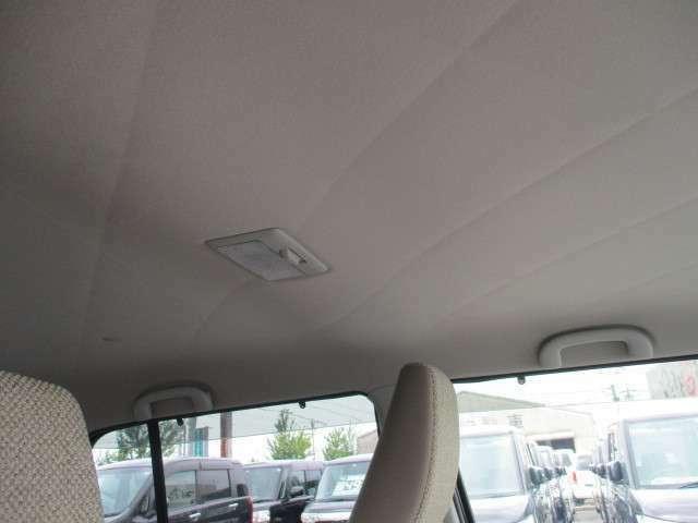 汚れなどもなく綺麗な天井です!