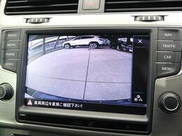 ●バックカメラ『駐車が苦手な方でも安心して車庫入れが可能です』