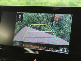 【バックカメラ】駐車が苦手な方には嬉しい便利な装備!ステアリング連動されているのでハンドルをきった際にガイドラインも動いてくれます♪