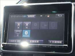 9インチSDナビを装備。フルセグ、Bluetooth等の機能も使用できます!
