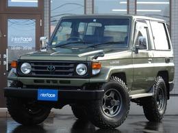 トヨタ ランドクルーザー70 4.2 LX ディーゼル 4WD 前後デフロック新品ブラV新品BFマッテレ