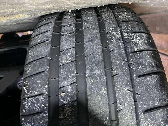 左後タイヤ 7月に新品交換