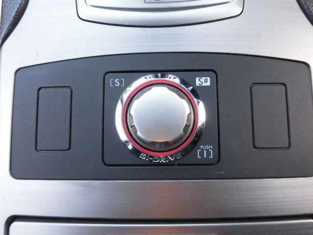 SIドライブは3パターンのドライブモードを選択することが可能です^^S#モード時の加速はきっと貴方をこの車の虜にさせると思いますよ(笑)