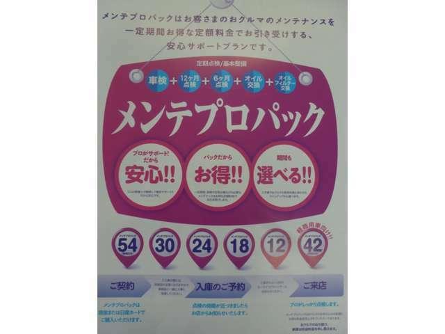 Bプラン画像:車の点検・車検を日産に任せっぱなしでOK☆全国の日産でいつでも使用できます