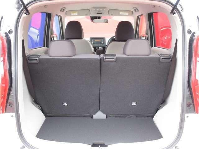 広さと快適さ、そして使いやすさを体感。コンパクトなボディにゆとりの空間が広がります。