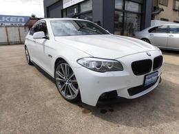 BMW 5シリーズ 528i Mスポーツパッケージ Mパフォーマンス仕様・本革・SR・20AW