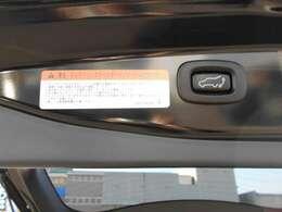 セーフティー機能付エレクトリックテールゲートは、運転席からの操作やリモコン操作で自動開閉が可能です。障害物に当たると自動的に反転する安全機能も備わっています♪