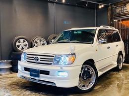 トヨタ ランドクルーザー100 4.2 VXリミテッド Gセレクション ディーゼルターボ 4WD USヘッドライト DVDデッキ エアサス