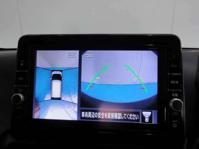 アラウンドビューモニター付きなので全周囲を確認しながら安全に駐車することができます!