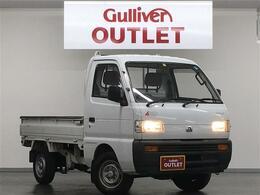 マツダ スクラムトラック 標準 5MT 4WD 純正ラジオ 社外フロアマット