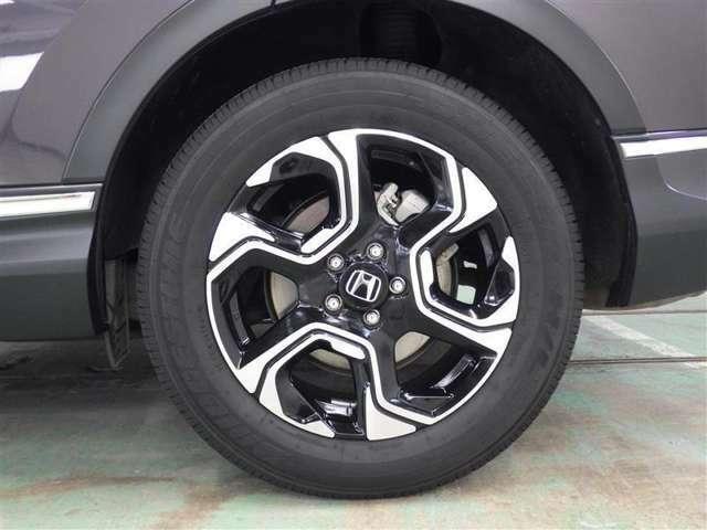 装着タイヤ(235/60R18)純正アルミホイール付き夏タイヤ