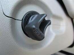 スタートシステム♪エンジンの始動は、エンジンスイッチを回すだけ。キーを差し込む手間もなく、カンタンでスムーズです♪