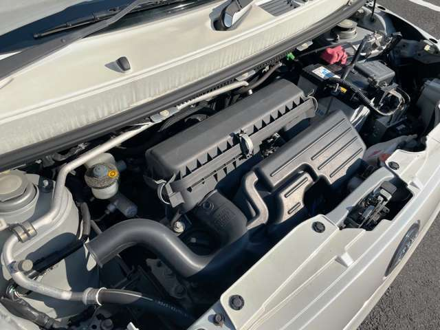 エンジン快調です☆納車時にはエンジンオイル&オイルフィルターを交換して納車させていただいております☆