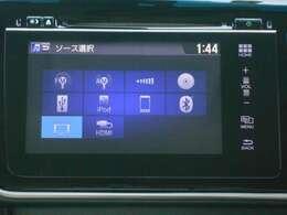 スマホ感覚で操作できる、次世代純正インターナビ!DVD・CD再生のほかにもフルセグTV、Blutooth連携機能も便利です!Hondaインターナビ+リンクアップフリー!Apple CarPlayにも対応です♪