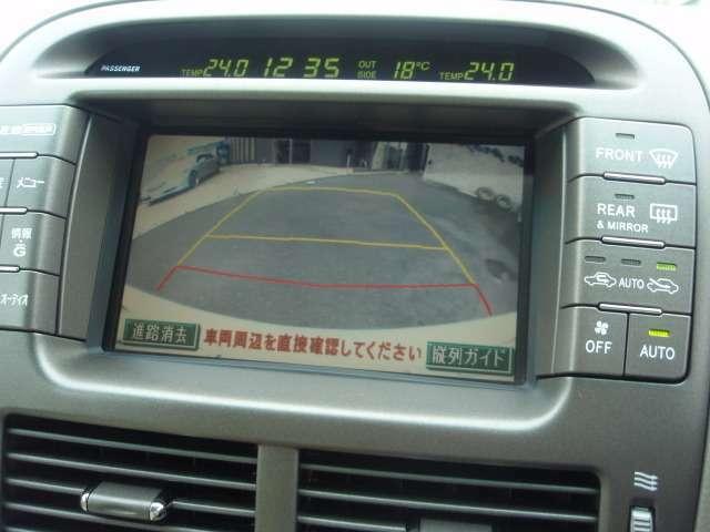 バックモニター!とっても見やすく、ガイドライン付きですので駐車が苦手な方、初心者の方でも安心して駐車して頂けます♪