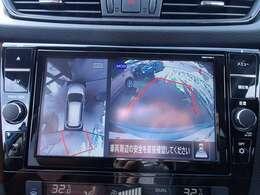 ★全方位カメラ・・・車をバックさせる際に後方の様子をカーナビのモニターで確認。バック駐車を安全にスムーズに行うことができます