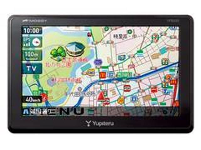 Bプラン画像:ユピテルポータブルナビゲーションYPB550付きパックです。軽自動車、小型車など設置スペースが取りにくい車種にオススメです。小さくても機能は十分。これで長距離ドライブも安心です。ワンセグTV視聴可。
