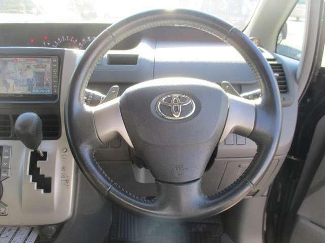 センターメーターなので、運転席前の視界が広いですよ。