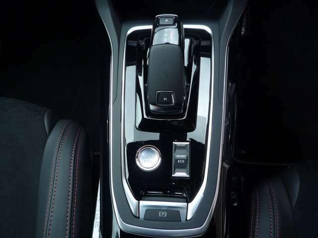 最新鋭8AT,スポーツ&エコモード、電磁式サイドブレーキ