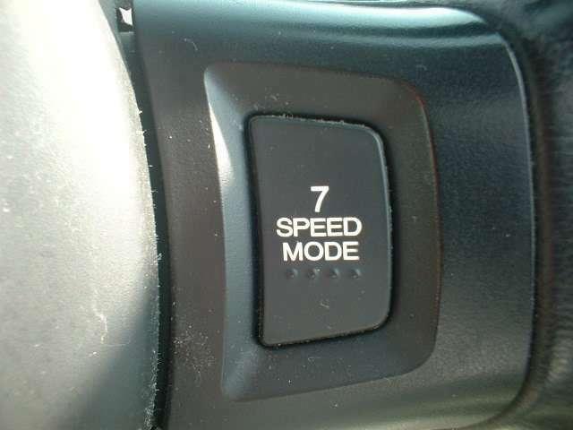 7速スポーツシフト付きで走りも楽しめます!!