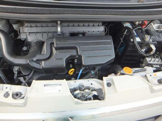 綺麗なエンジンルーム クリーニング済 安心のタイミングベルトチェーン式