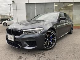 BMW M5コンペティション 4.4 4WD レーザーライト黒革20AW禁煙ワンオナ