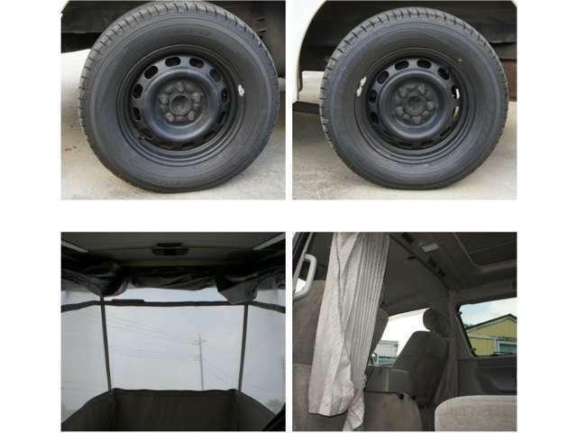 タイヤは新品を装着済みです。プラグも新品に交換済みです。