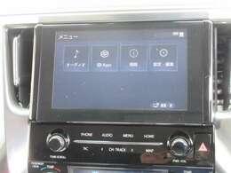 純正標準装備の9インチディスプレイオーディオです。バックモニターも標準装備です。