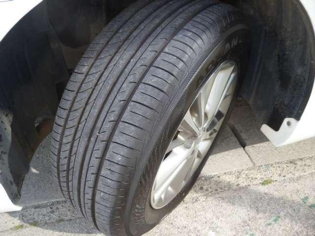 タイヤの溝も十分にあります。