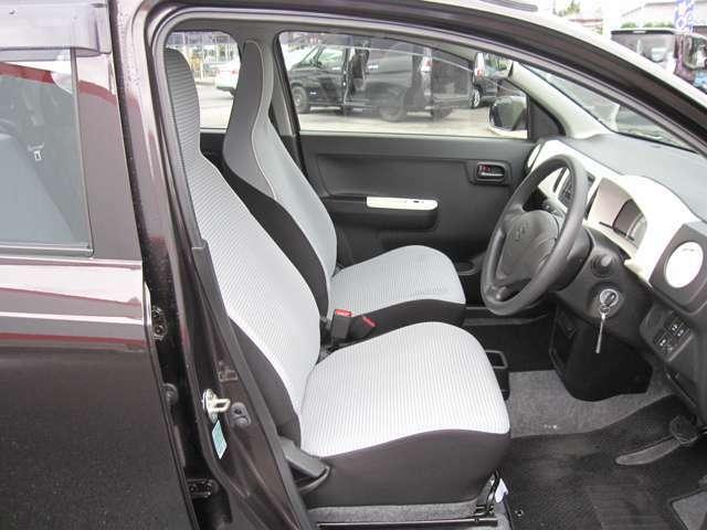 快適なシートで、安心感があります。