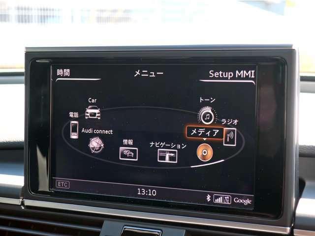 純正ナビ フルセグTV・Bluetooth・ミュージックサーバ接続・CD・DVD