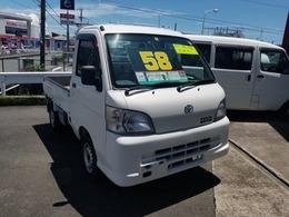 トヨタ ピクシストラック 660 スペシャル エアコン・パワステバージョン 3方開 AT車 ワンオーナー 荷台木製張