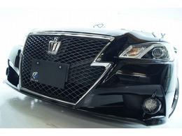 トヨタ クラウンアスリート 2.5 S 革サンルーフ新品ホイールタイヤ新品車高調