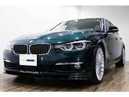 正規ディーラー車 BMW ALPINA B3Sリムジン 右ハンドル アルピナグリーンメタリック/ベネチアンベージュダコタレザー
