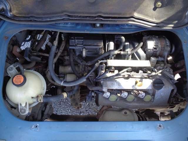 【エンジン種類】10万キロ毎の交換が不要のタイミングチェーン式エンジンですので、余分なメンテナンス費用が不要です!