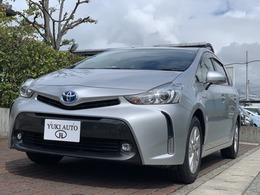 トヨタ プリウスα 1.8 S 後期モデル 純正ナビTV 純正AW