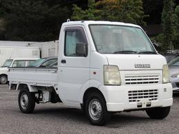スズキ キャリイ 660 KCエアコン・パワステ 3方開 4WD 高低二段切替式4WD・タイヤ4本新品・5MT