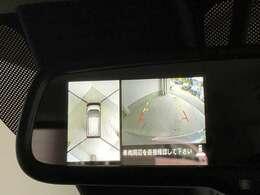 アラウンドビューモニターもついてるのでカメラで死角の確認ができます!!