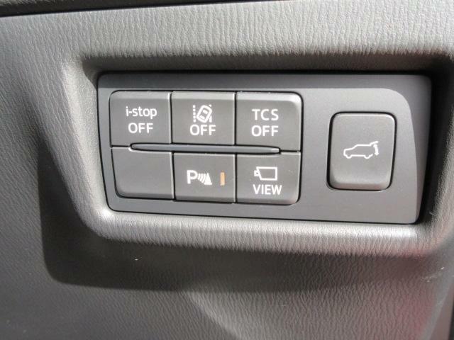 各種スイッチで機能のオンオフ切り替え可能です。