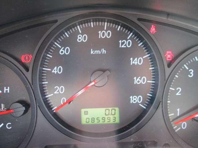 走行メーター85993km