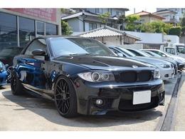 BMW 1シリーズカブリオレ 120i Mモデル仕様・20AW・車高調・マフラー