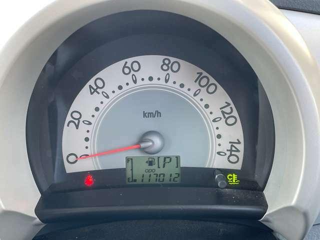 スピードメータの写真になります!走行距離はすべてオークション協会でチェックしております。万が一もありませんので、ご安心ください!