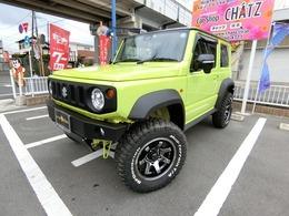 スズキ ジムニーシエラ 1.5 JC 4WD 5MT 4WD 外品バンパー 外AW