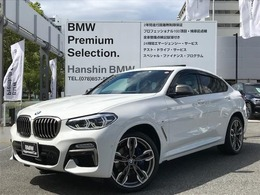 BMW X4 M40i 4WD ワンオーナ・パノラマサンルーフ・専用21AW