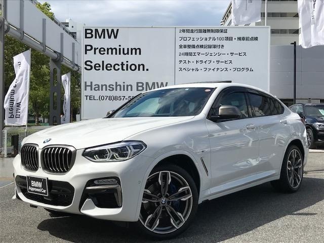 BMW X4 M40i ヘッドアップディスプレイ アクティブクルーズコントロール リアシートアジャストメントが装備されているお車で御座います!