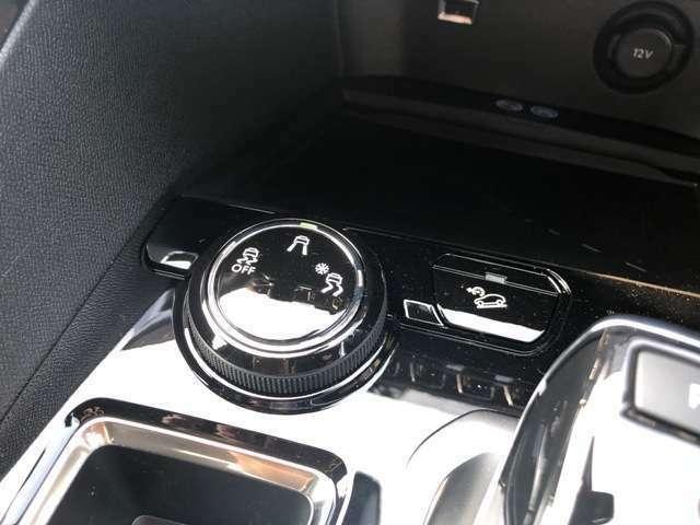 グリップコントロール搭載車です。走破性がアップします。