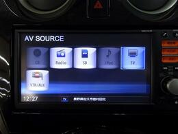 ■ 装備3 ■ ワンセグTV|AUX、USB外部機器接続対応