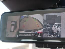 全方位周囲カメラが装備されています♪上から見下ろした様な映像が映し出されるので苦手な縦列駐車も可能ですね♪