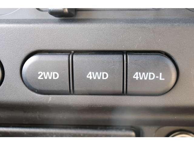 《 電子制御パートタイム4WD 》 2駆で走れば燃費も上々です☆遊びと街乗り両方兼ね備えております♪!